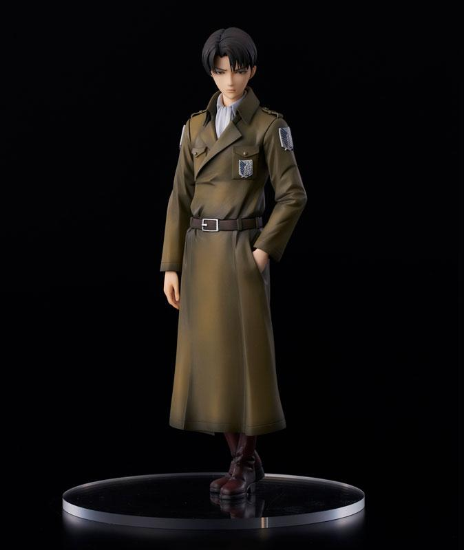 Attack on Titan Levi coat style Complete Figure product