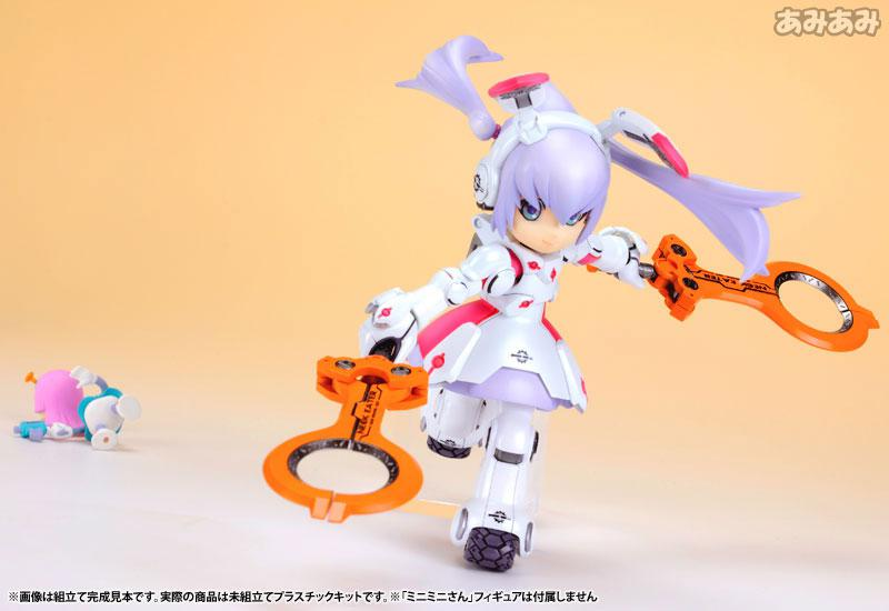 Ichigeki Sacchu!! HoiHoi-san LEGACY 1/1 DG-001LN Usagear Plastic Model 14