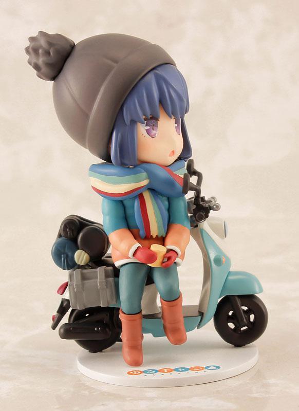 Yuru Camp Rin Shima Mini Figure 1