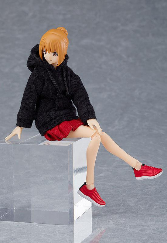 figma Female Body (Emily) with Hoodie Outfit 1