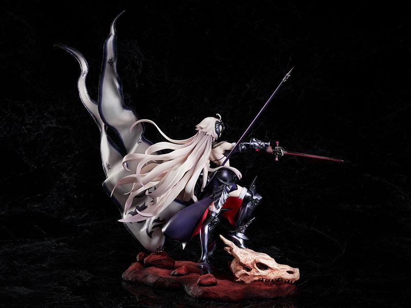 Fate/Grand Order Avenger / Jeanne d'Arc [Alter] Kuraki Homura wo Matoishi Ryuu no Majo 1/7 Complete Figure 4