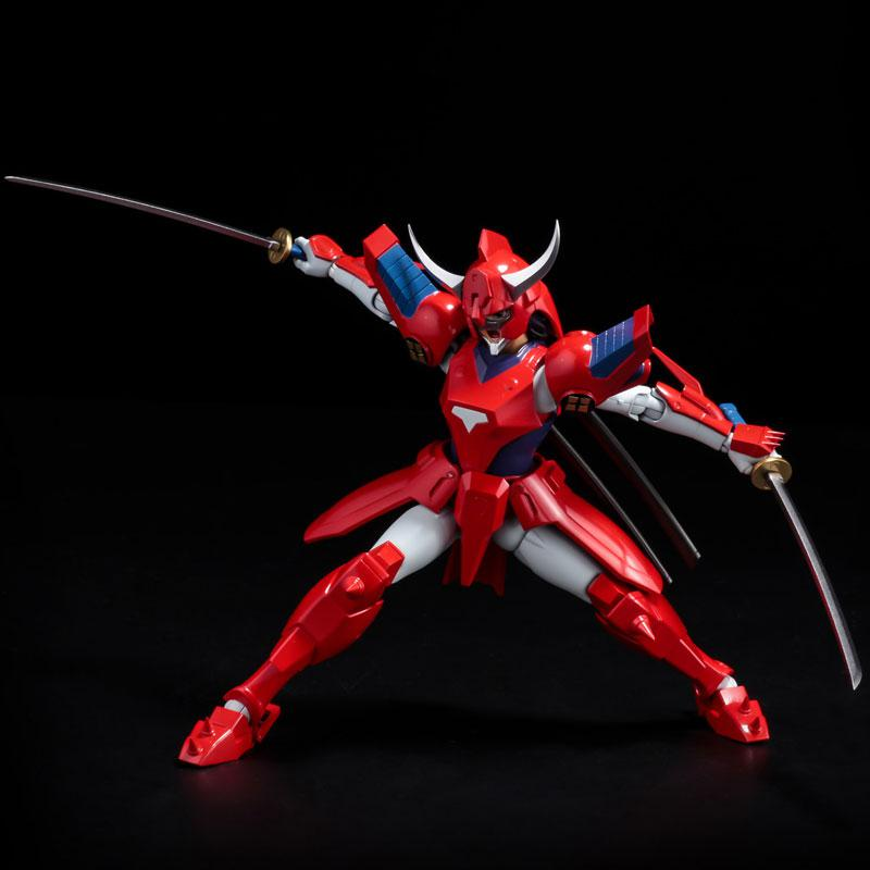 Choudan Kadou Ronin Warriors Ryo of the Wildfire Posable Figure 10