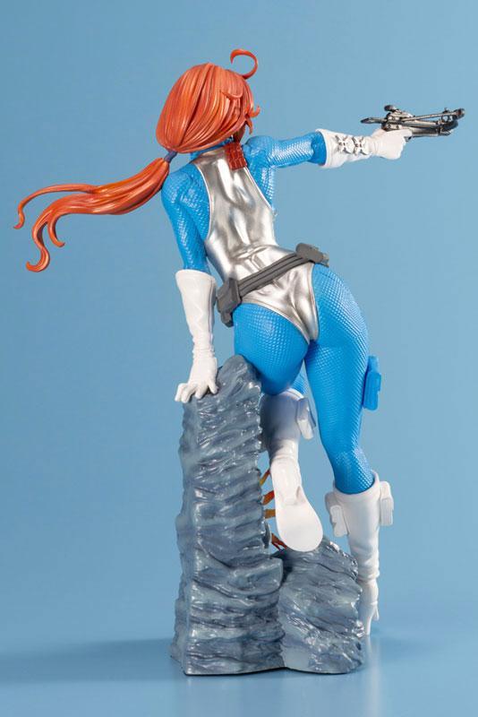 G.I. JOE Bishoujo Scarlett Sky-blue Limited Edition 1/7 Complete Figure 2