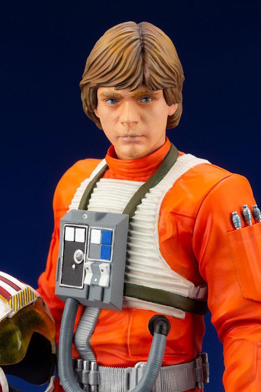 ARTFX+ Star Wars Luke Skywalker X-WING Pilot 1/10 Easy Assembly Kit 4