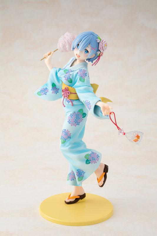 KDcolle Re:ZERO -Starting Life in Another World- Rem Yukata Ver. Repaint 1/7 Complete Figure 0