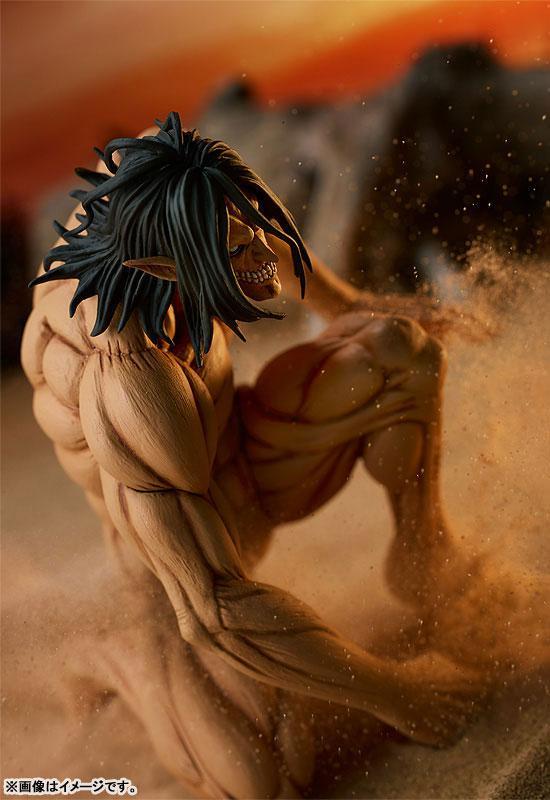 POP UP PARADE Attack on Titan Eren Yeager Attack Titan Ver. Complete Figure