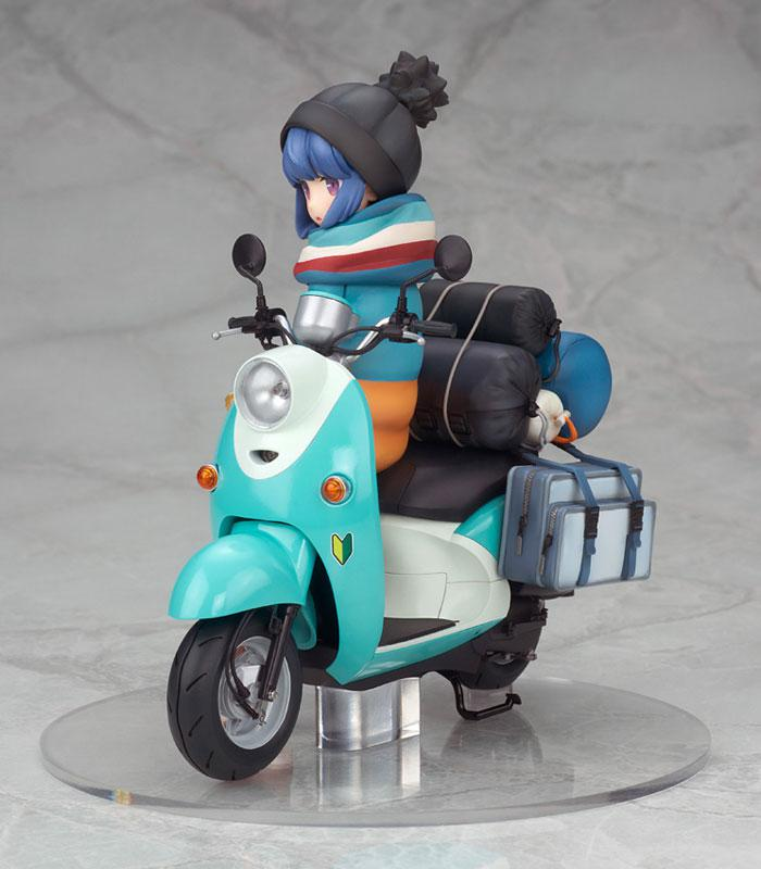 Yuru Camp Rin Shima with Scooter 1/10 Complete Figure 1