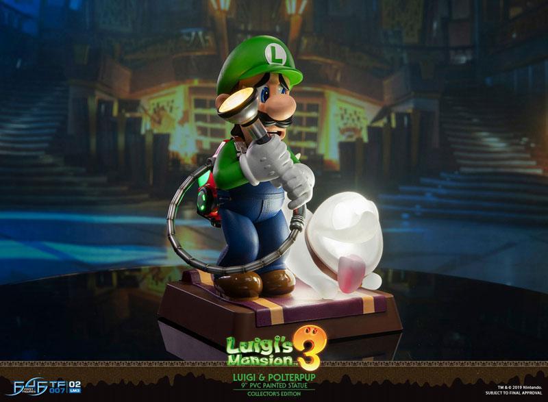 Luigi's Mansion 3/ Luigi 9 Inch PVC Statue Collector Edition 1