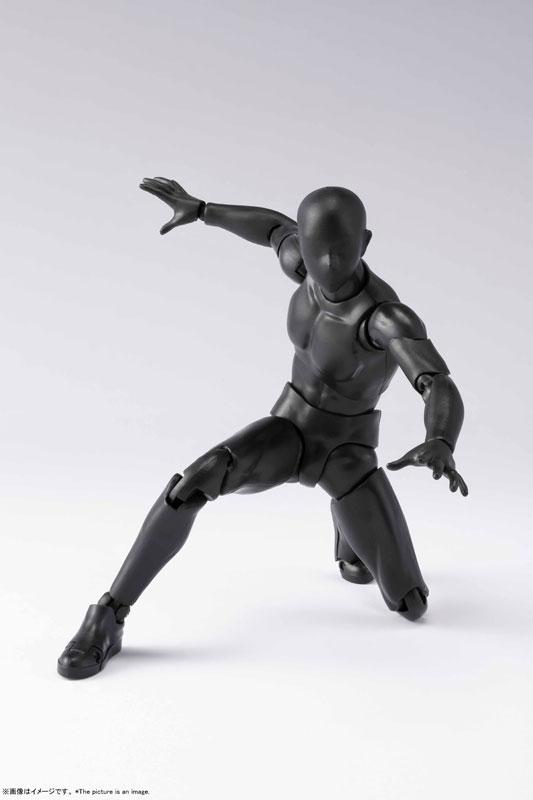 S.H.Figuarts Body-kun DX SET 2 (Solid black Color Ver.)
