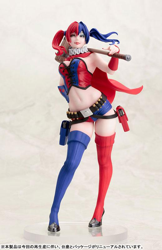 DC COMICS Bishoujo DC UNIVERSE Harley Quinn NEW52 ver. 2nd Edition 1/7 Complete Figure 0