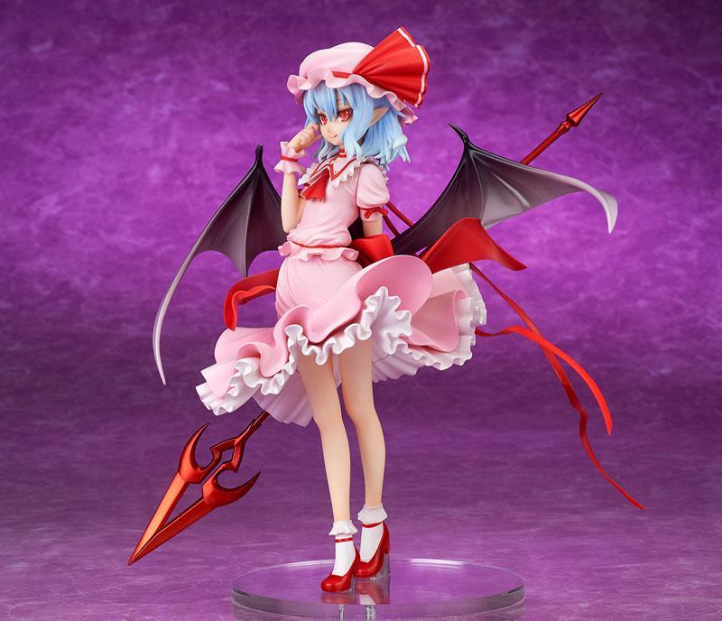 """Touhou Project """"Eien ni Kurenai Wakaki Tsuki"""" Remilia Scarlet Extra Color 1/8 Complete Figure"""