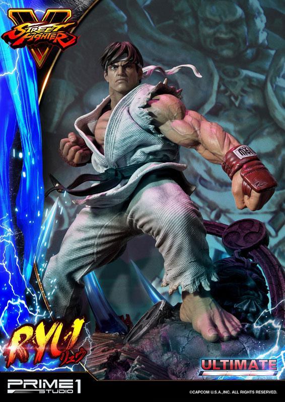 Premium Master Line Street Fighter V Ryu Ultimate 1/4 Statue 17