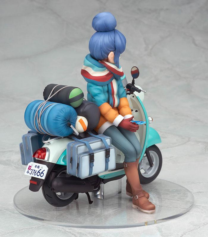 Yuru Camp Rin Shima with Scooter 1/10 Complete Figure 8