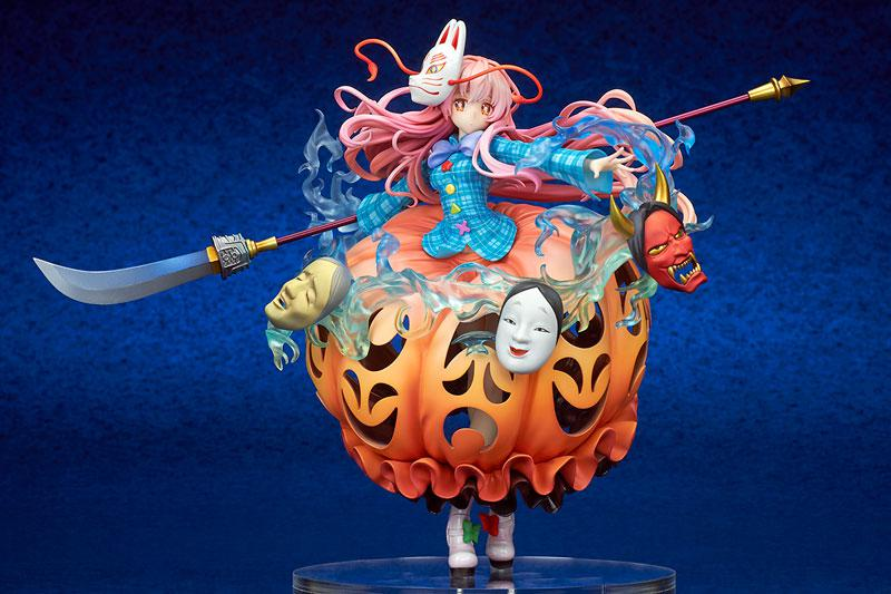 """Touhou Project """"The Expressive Poker Face"""" Kokoro Hatano 1/8 Complete Figure product"""