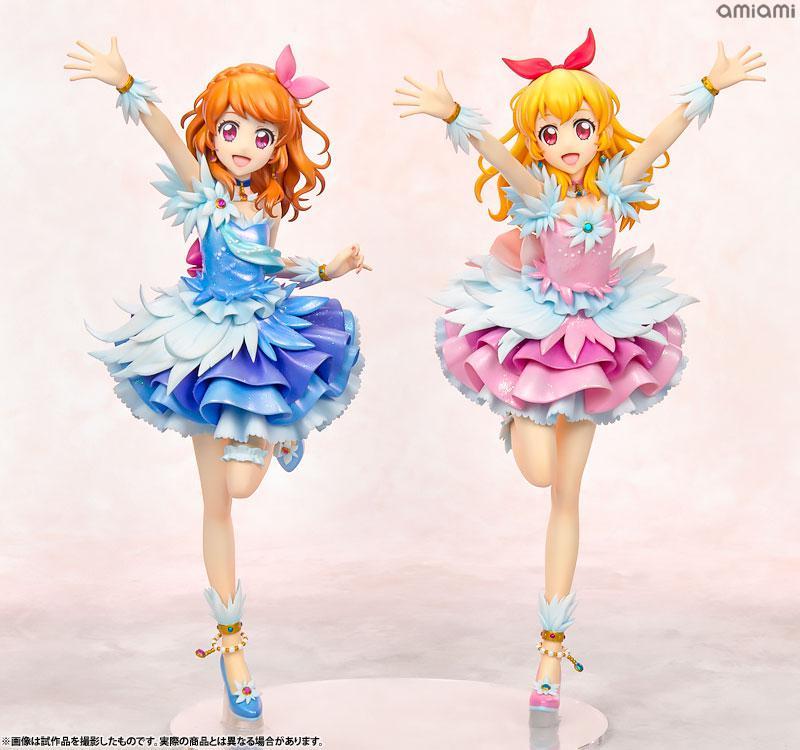 Lucrea Aikatsu! Ichigo Hoshimiya & Akari Ozora Cosmos Ver. Complete Figures product