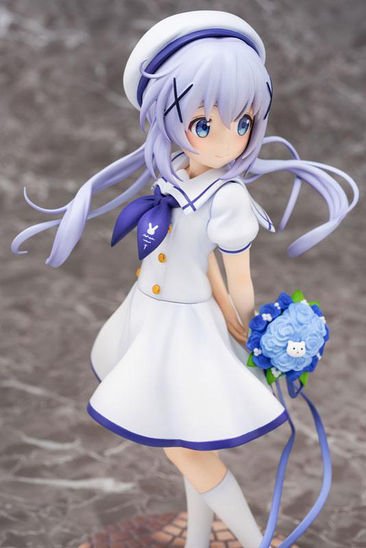 Is the order a rabbit?? Chino (Summer Uniform) 1/7 Complete Figure 3