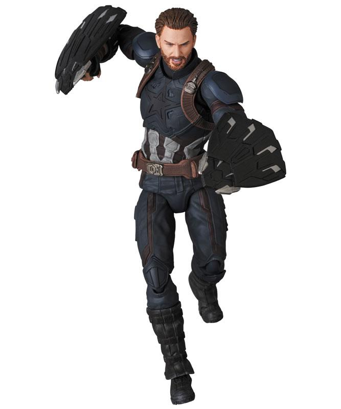 MAFEX No.122 MAFEX CAPTAIN AMERICA (INFINITY WAR Ver.)