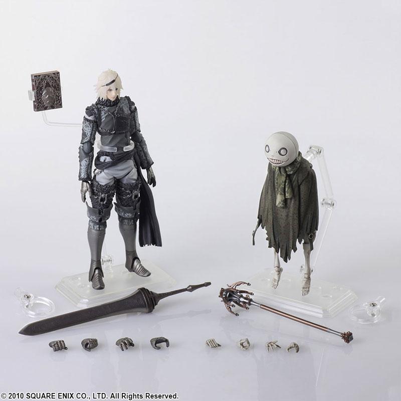 NieR RepliCant BRING ARTS NieR & Emil Action Figures