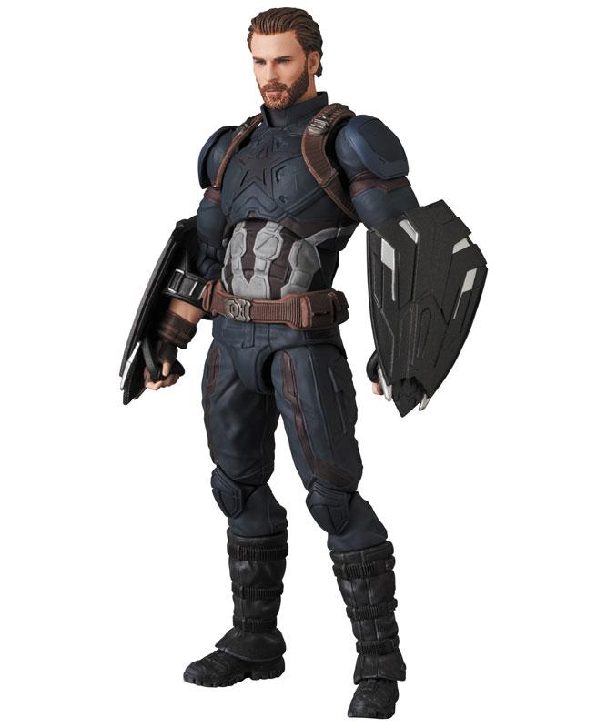 MAFEX No.122 MAFEX CAPTAIN AMERICA (INFINITY WAR Ver.) 2