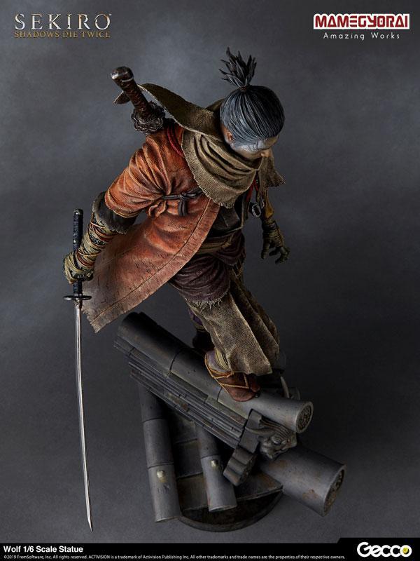 [Bonus] SEKIRO: SHADOWS DIE TWICE/ Wolf 1/6 Scale Statue 18