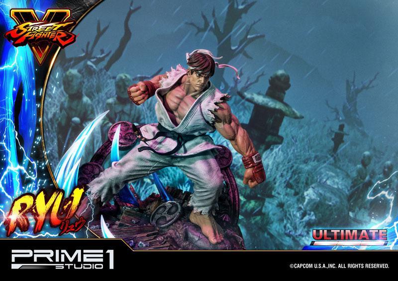 Premium Master Line Street Fighter V Ryu Ultimate 1/4 Statue 18