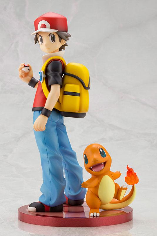 "ARTFX J ""Pokemon"" Series Red with Charmander 1/8 Complete Figure product"