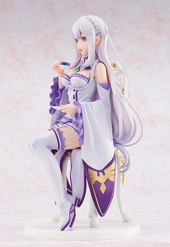 KDcolle Re:ZERO -Starting Life in Another World- Emilia Tea Party Ver. 1/7 Complete Figure