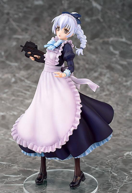 Full Metal Panic! Invisible Victory Teletha Testarossa Maid Ver. 1/7 Complete Figure 2
