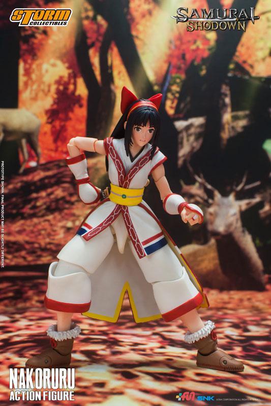Samurai Shodown Action Figure Nakoruru