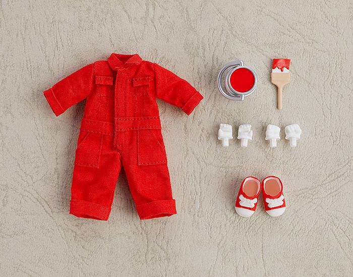 Nendoroid Doll Outfit Set (Colorful Coverall: Red) main