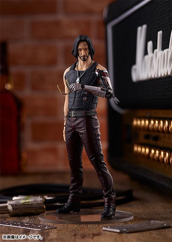 POP UP PARADE Cyberpunk 2077 Johnny Silverhand Complete Figure