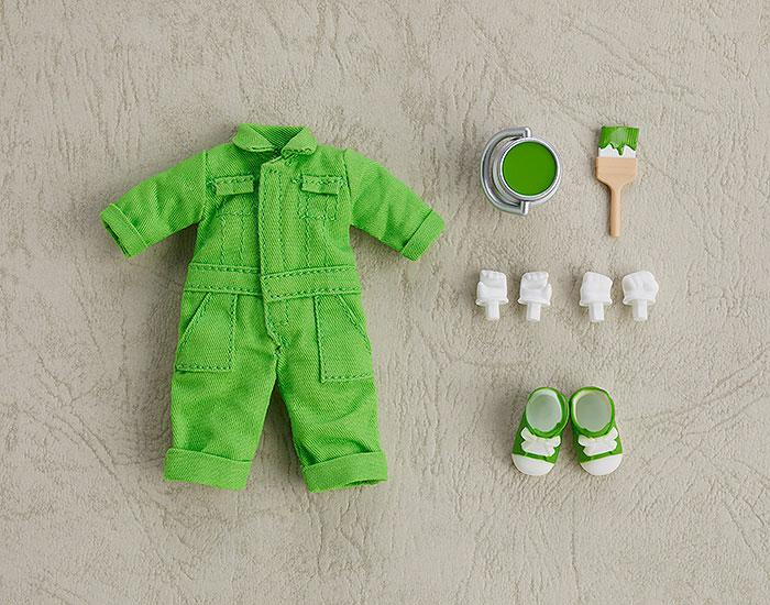 Nendoroid Doll Outfit Set (Colorful Coverall: Yellow-green) main