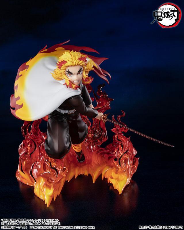 """Figuarts ZERO Kyojuro Rengoku Flame Pillar """"Demon Slayer: Kimetsu no Yaiba"""" product"""
