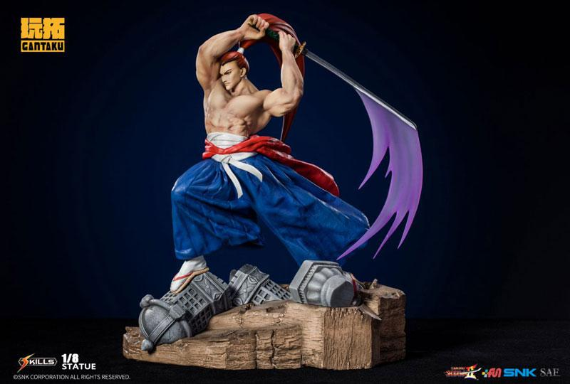 Samurai Shodown 2/ Genjuro Kibagami 1/8 Statue 0