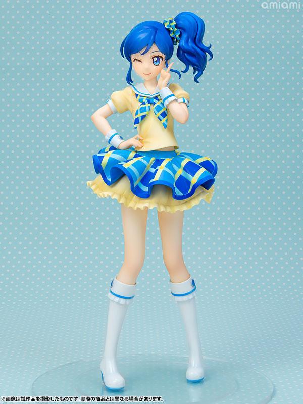 Lucrea Aikatsu! Aoi Kiriya Blue Stage Coord 1/7 Complete Figure 0