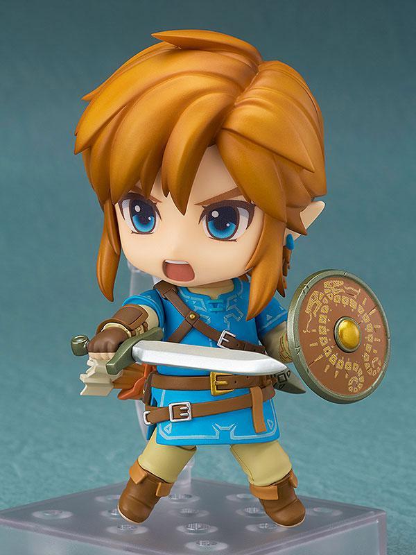 Nendoroid The Legend of Zelda Link Breath of the Wild Ver. Regular Edition 1