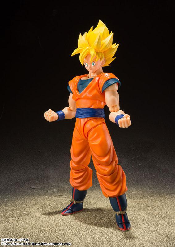 "S.H.Figuarts Super Saiyan Full Power Son Goku ""Dragon Ball Z"""