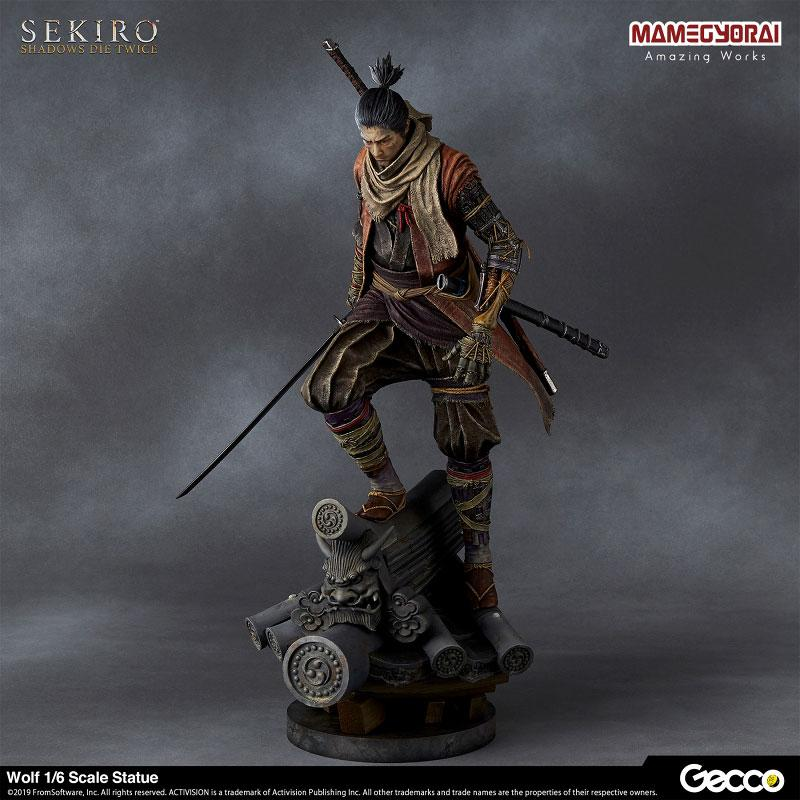 SEKIRO: SHADOWS DIE TWICE/ Wolf 1/6 Scale Statue product