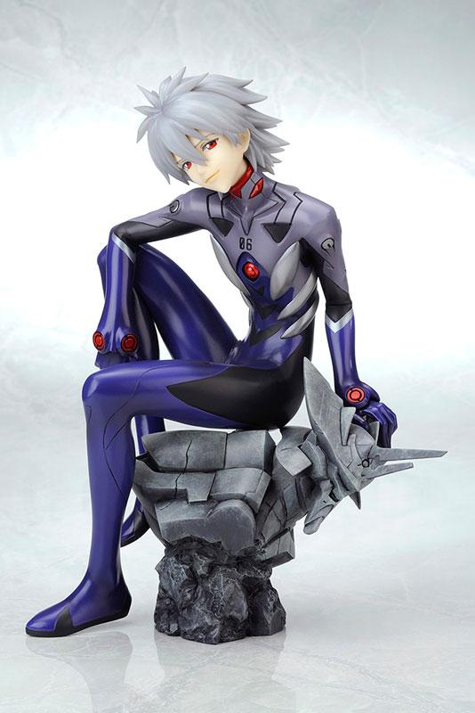 Rebuild of Evangelion Kaworu Nagisa -Plug Suit ver.- :RE 1/6 Complete Figure product