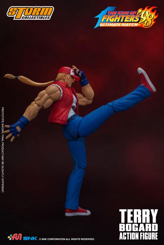 The King of Fighters '98 Ultimate Match Action Figure Terry Bogard