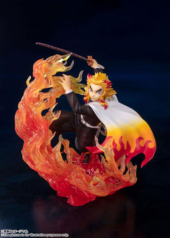 "Figuarts ZERO Kyojuro Rengoku Flame Breathing ""Demon Slayer: Kimetsu no Yaiba"" product"