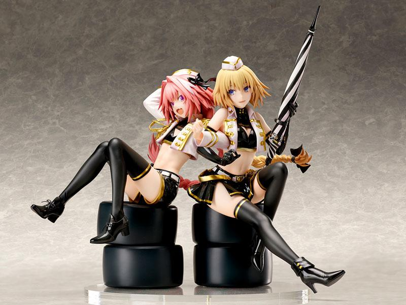 Fate/Apocrypha Jeanne d'Arc & Astolfo TYPE-MOON Racing ver. 1/7 Complete Figure