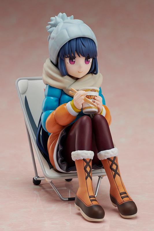 Yuru Camp Rin Shima 1/8 Premium Noodle Stopper Figure product