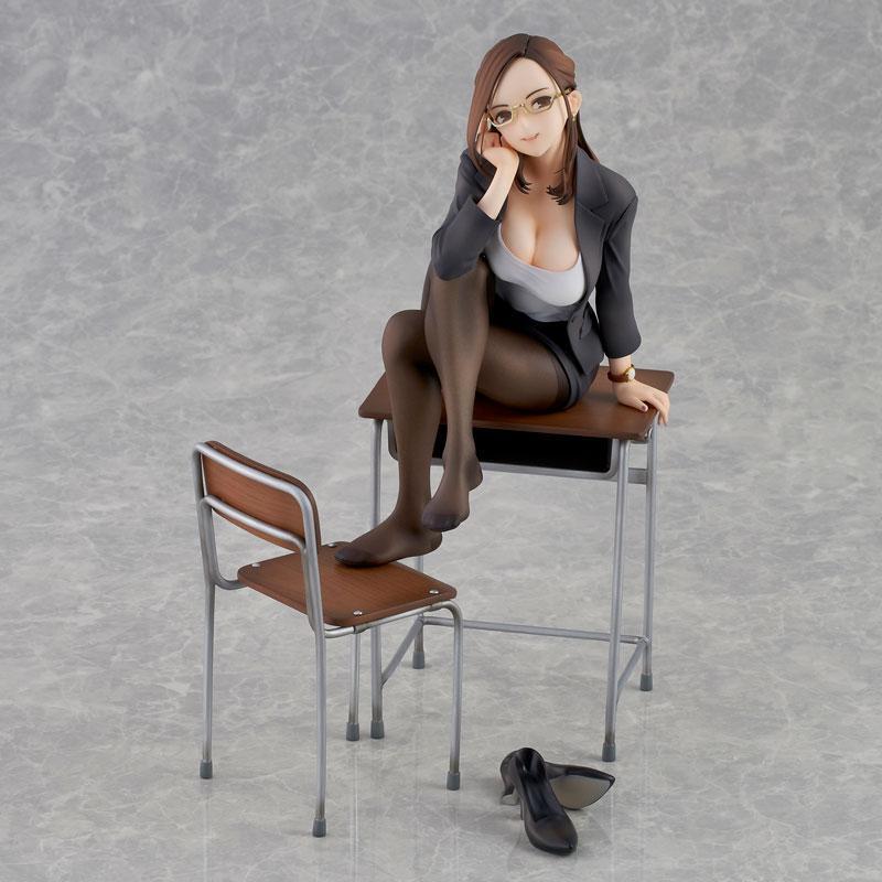 Miru Tights Gogatsubyou? Sensei ga Naoshite Ageyokka? Yuiko Sensei Complete Figure main