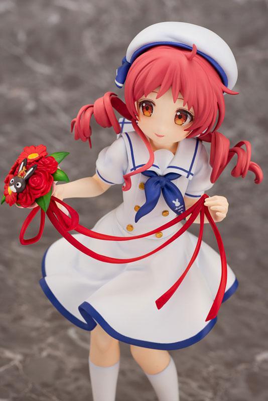 Is the order a rabbit?? Megu (Summer Uniform) 1/7 Complete Figure 4