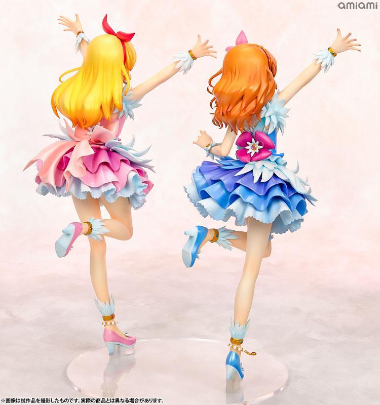 Lucrea Aikatsu! Ichigo Hoshimiya & Akari Ozora Cosmos Ver. Complete Figures