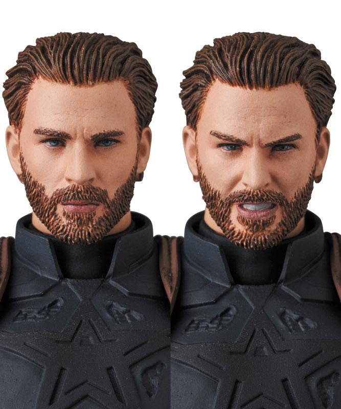 MAFEX No.122 MAFEX CAPTAIN AMERICA (INFINITY WAR Ver.) 1