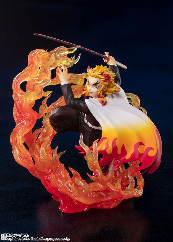 "Figuarts ZERO Kyojuro Rengoku Flame Breathing ""Demon Slayer: Kimetsu no Yaiba"""