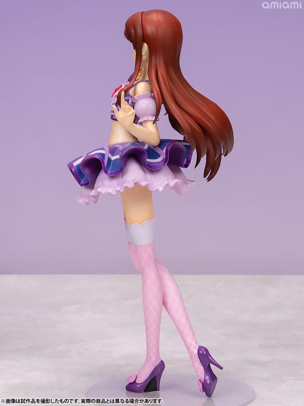 Lucrea Aikatsu! Ran Shibuki Purple Stage Coord 1/7 Complete Figure