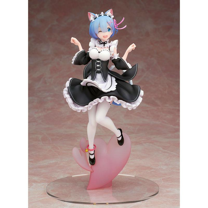Alpha Omega Re:ZERO -Starting Life in Another World- Rem Cat Ear Ver. Complete Figure